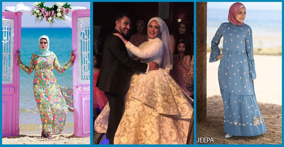 محمد وسميرة.. صورة زفاف وراءها قصة نجاح و«جيبة»
