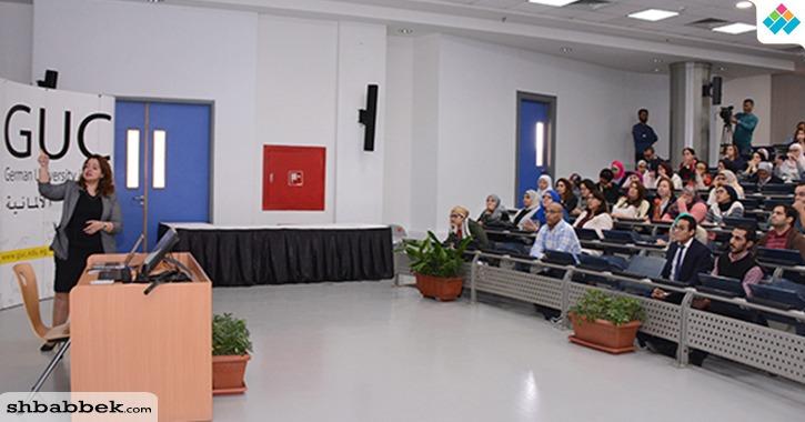 الجامعة الألمانية بالقاهرة تنظم ورشة عمل مع شركة نشر عالمية (صور)