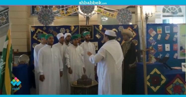 حلقة ذكر ضمن فاعليات استقبال الطلاب بجامعة القاهرة  فيديو