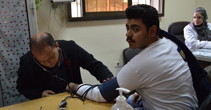 استمرار مبادرة 100 مليون صحة في جامعة عين شمس