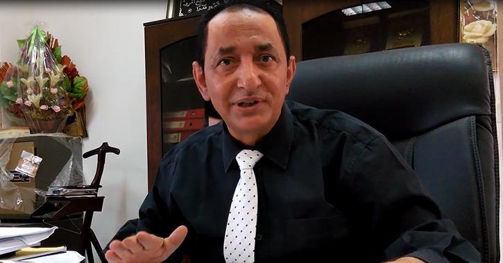 معلومات عن رئيس جامعة العريش الدكتور حبش النادي