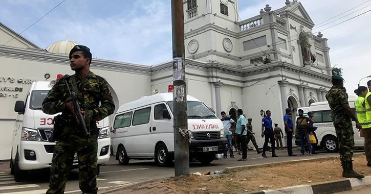 ارتفاع عدد قتلى تفجيرات سريلانكا إلى 207 شخصا