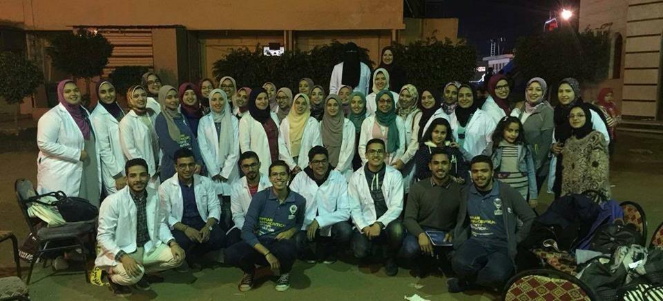 الاتحاد المصري لطلاب الصيدلة يختتم حملة التوعية بالمضادات الحيوية في كفر الشيخ