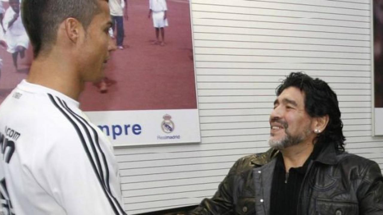 جوائز الأفضل..مارادونا يشيد بـ «الدون» وينفي الخلافات مع «البرغوث»