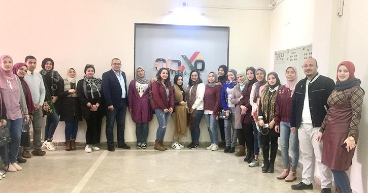 تدشين وحدة موقع «فالصو» في جامعة النهضة بمحافظة بني سويف (صور)