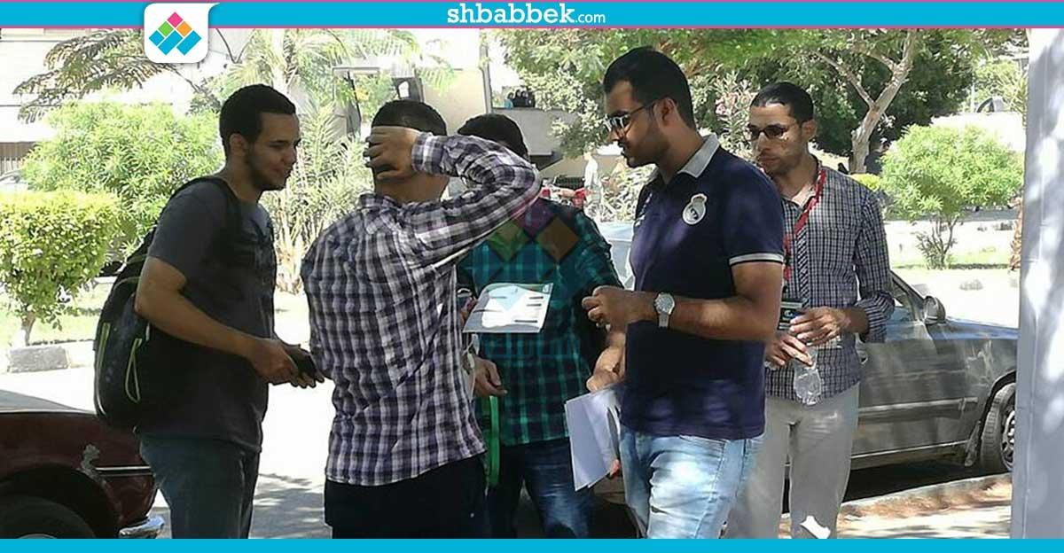 نموذج محاكاة منظمة التعاون الإسلامي تنظم حملة تعريفية للطلاب بجامعة أسيوط
