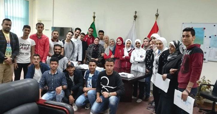 تعرف على ممثلي اتحاد طلاب كلية تمريض القاهرة