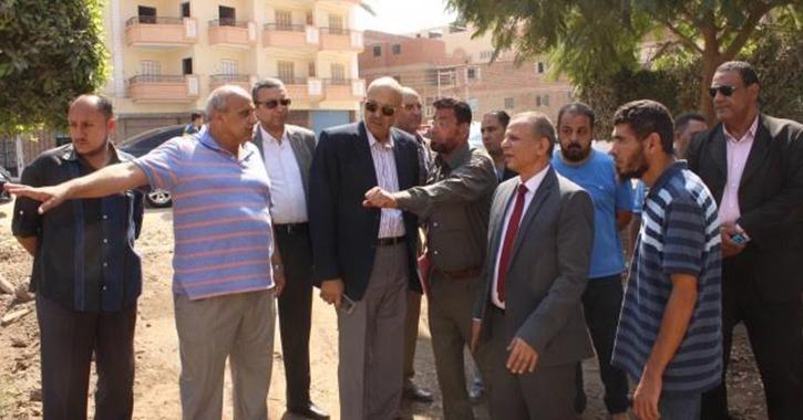 نائبا رئيس جامعة طنطا يتفقدان كليات ومدن مجمع «سبرباي»