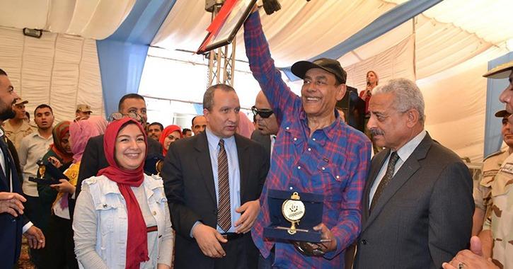 بحضور فنانين وقيادات أمنية.. جامعة السويس تحتفل بانتصارات حرب أكتوبر