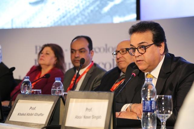 وزير التعليم العالي يشهد فعاليات المؤتمر الدولي لأورام الثدي والعلاج المناعي