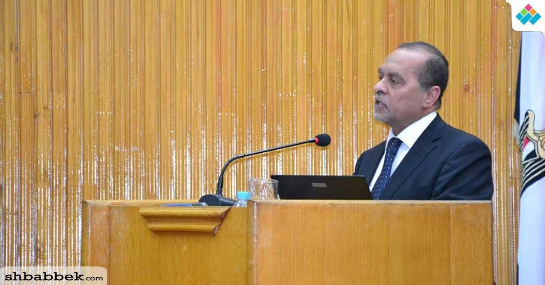 في احتفالية يوم الأرض.. نائب رئيس جامعة الإسكندرية: «مصر تعاني من نقص شديد في المياه»