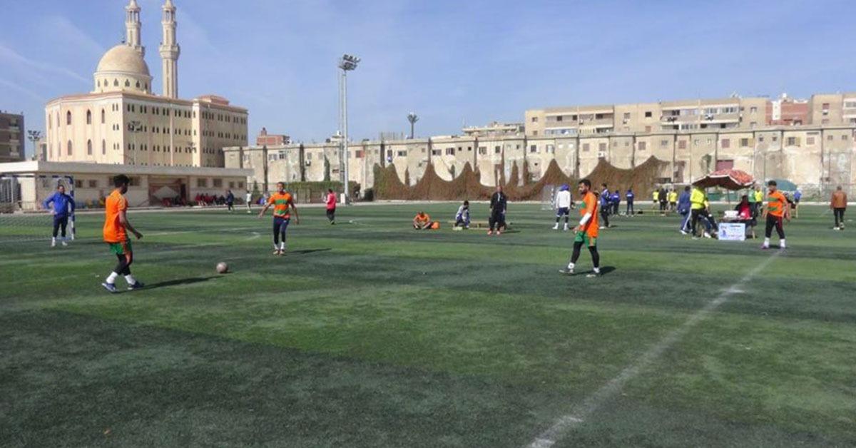 جامعة المنيا تصعد إلى دور الـ16 في منافسات كرة القدم بأسبوع شباب الجامعات
