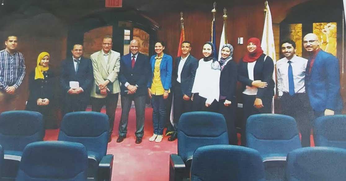 جامعة عين شمس الأولى على شمال إفريقيا في مسابقة «البرميل الملكي»