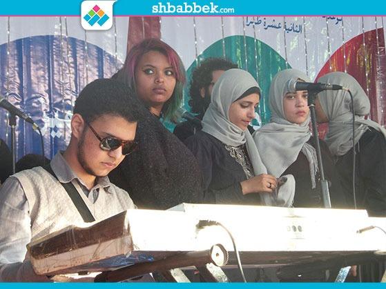 حفل متحدي الإعاقة بجامعة القاهرة