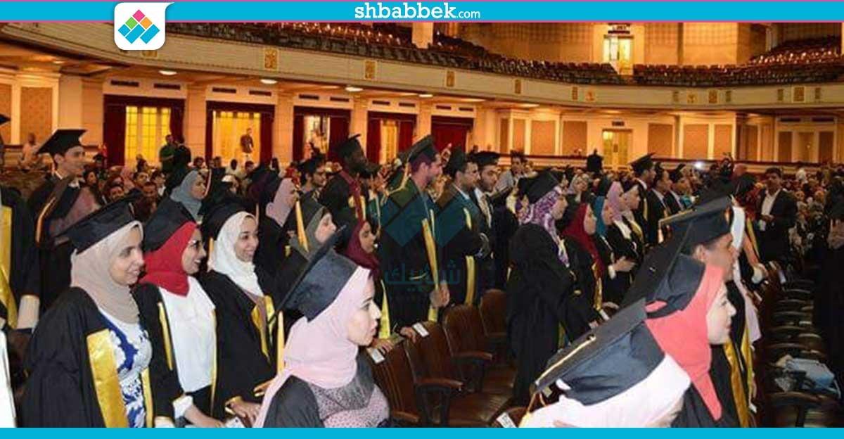 كلية حاسبات ومعلومات جامعة القاهرة تحتفل بتخريج الدفعة 18 (صور)