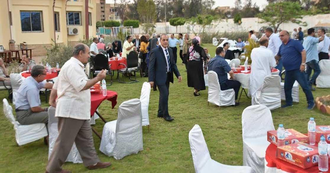 إفطار جماعي لأعضاء هيئة التدريس بجامعة السادات