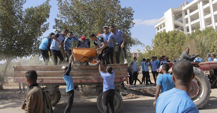 جامعة جنوب الوادي تطلق فعاليات أسبوع العمل التطوعي