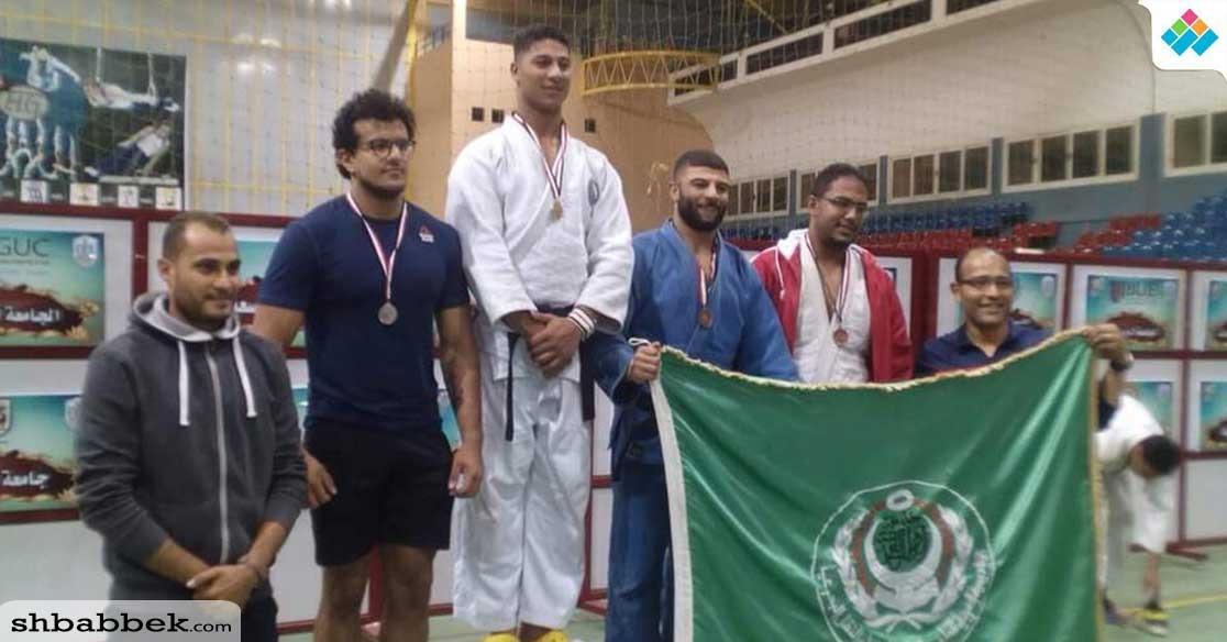 جامعة قناة السويس تفوز بذهبية الجودو في منافسات الجامعات