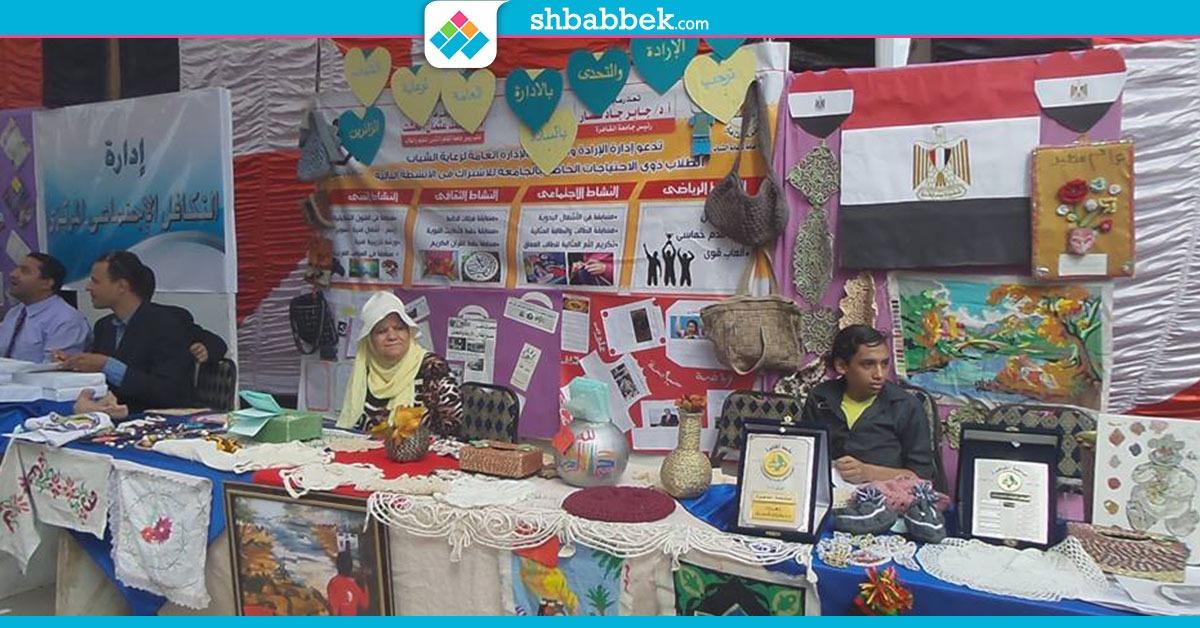 بأغنية «يا حبيبتي يا مصر».. جامعة القاهرة تستقبل طلابها (صور)