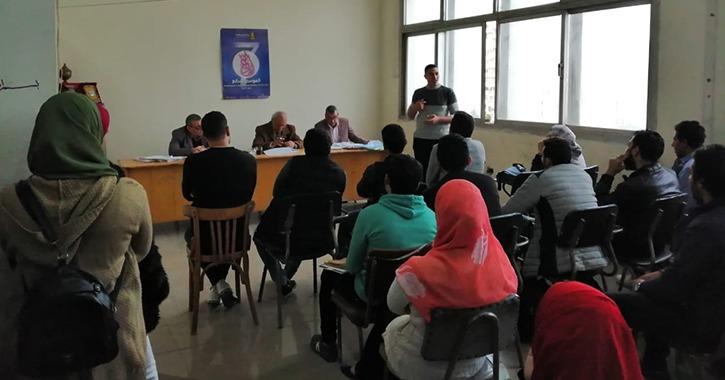 أسماء الفائزين في المسابقة الأدبية بجامعة طنطا