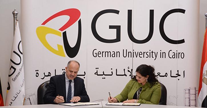 بروتوكول تعاون بين الجامعة الألمانية ومشروع واد «2030» ضمن مبادرة «مليون ريادي»