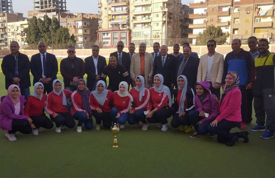 جامعة الزقازيق تحصد المركز الأول في بطولة الهوكي طلبة وطالبات