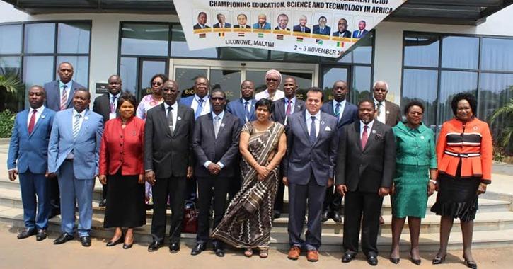 حصاد وزارة التعليم العالي في ملف التعاون مع أفريقيا 2018