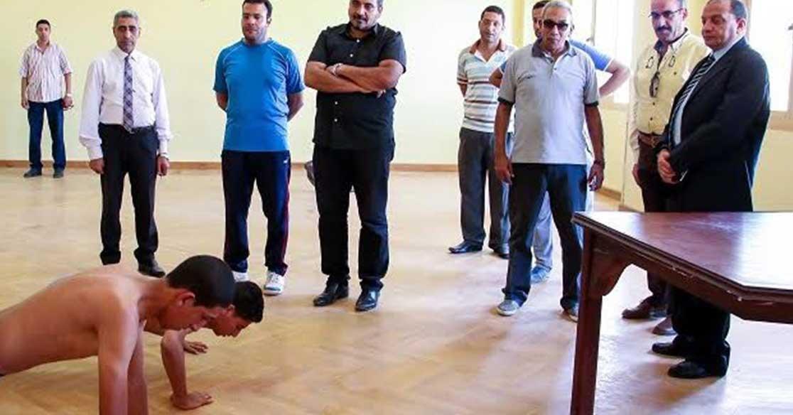 253 طالبا وطالبة يتقدمون لاختبارات القدرات بكلية التربية الرياضية جامعة بني سويف