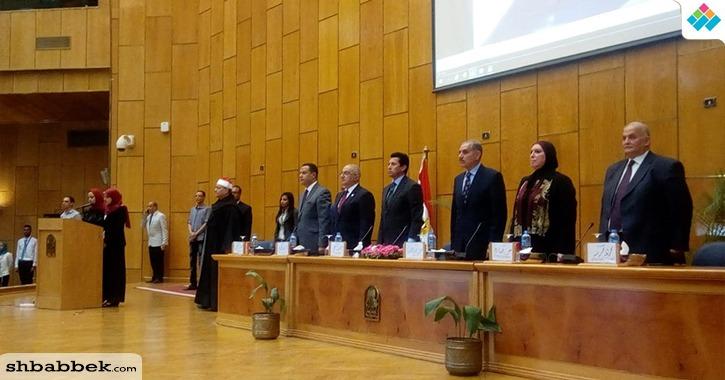 بالسلام الجمهوري.. وزير الشباب والرياضة يفتتح ملتقى «شباب أسيوط»