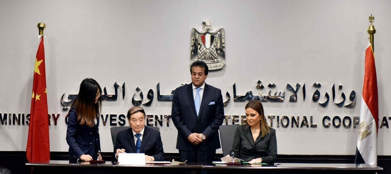 إنشاء القمر الصناعي «مصر سات-2» بالتعاون مع الصين