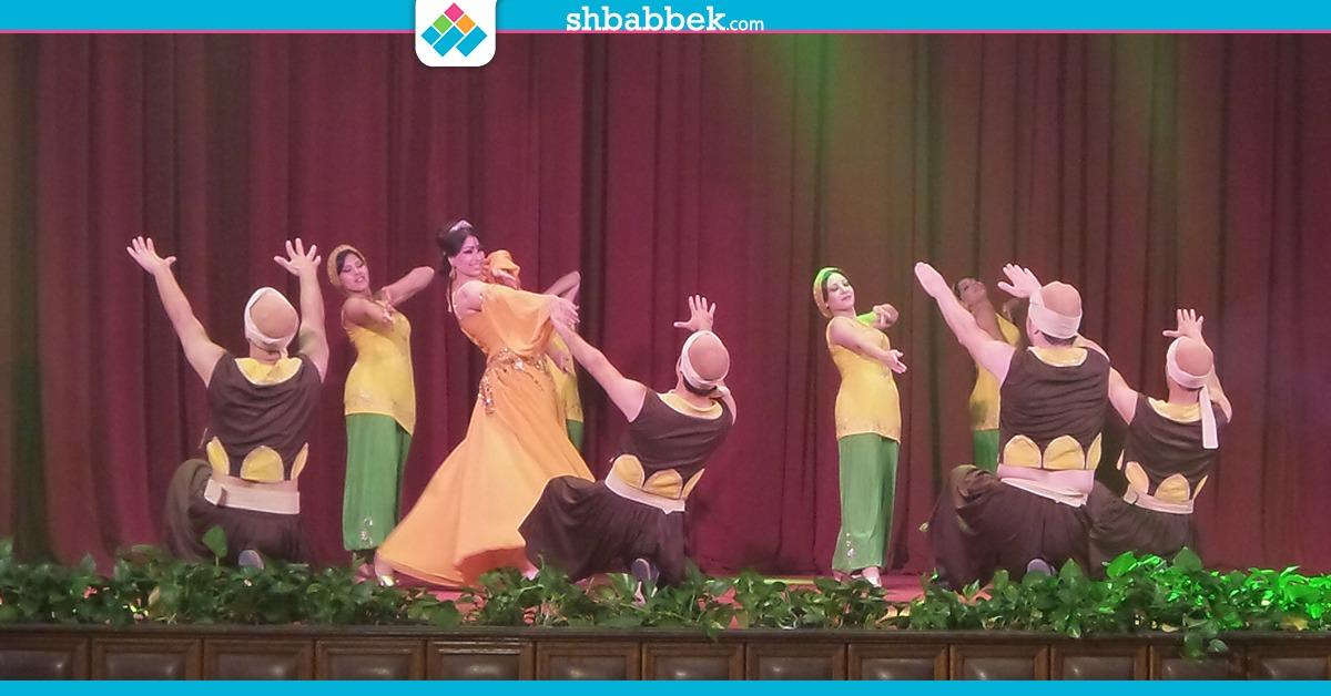 حفل فرقة رضا بجامعة القاهرة