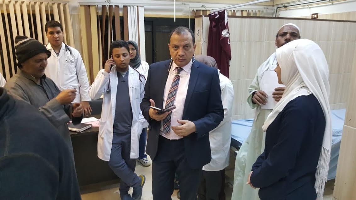 إحالة عدد من العاملين بمستشفى جامعة بني سويف للتحقيق