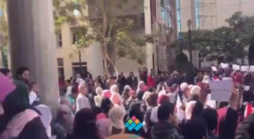 انتفاضة طلاب جامعة مصر للعلوم والتكنولوجيا من أجل القدس