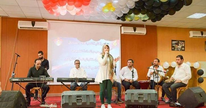 استعراضات تنورة ومواهب طلابية في حفل استقبال طلاب «تمريض المنصورة»