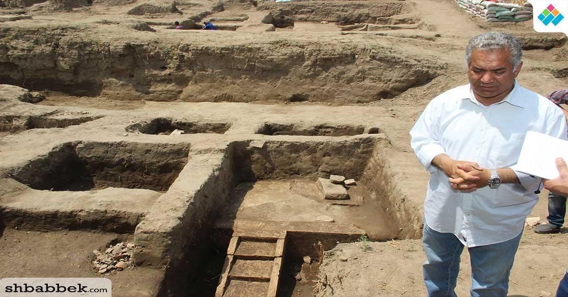 اكتشافات أثرية جديدة لبعثة جامعة عين شمس بمنطقة عرب الحصن (صور)
