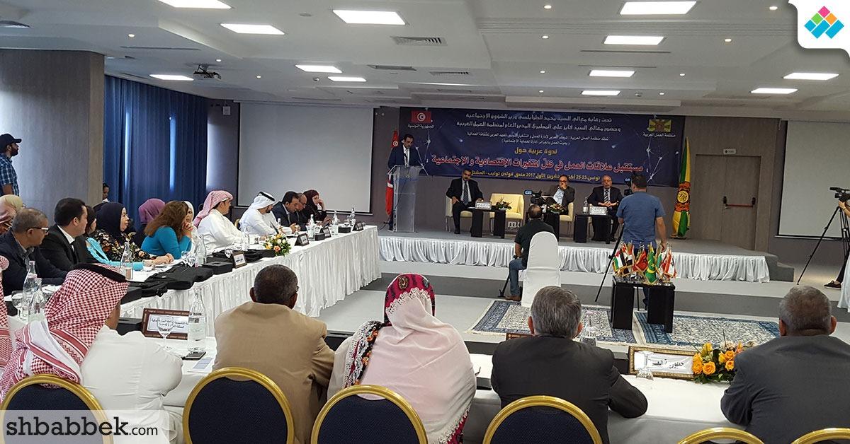مدير منظمة العمل العربية: استقرار علاقات العمل ينمي الاستثمار ويحد من البطالة