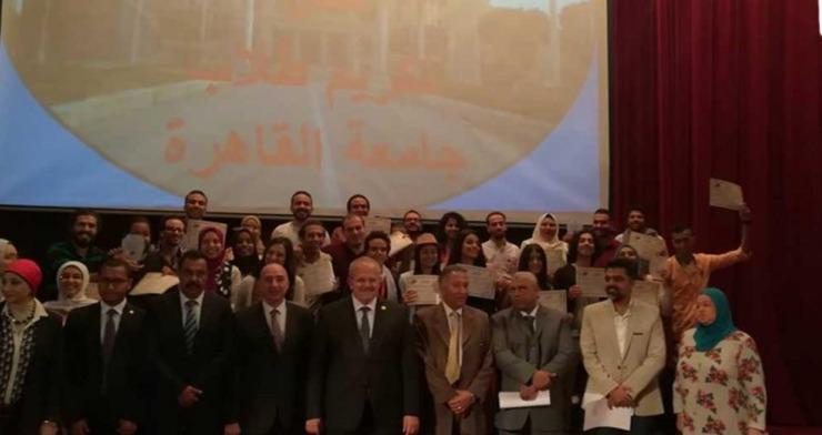 رئيس جامعة القاهرة: دعمنا الأنشطة الطلابية بـ7 مليون جنيه في عام 2017-2018