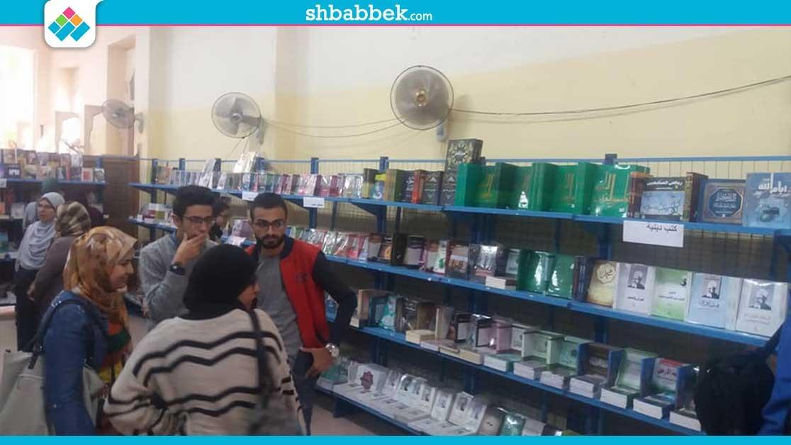 لمدة 10 أيام.. افتتاح معرض للكتاب في كلية الهندسة جامعة عين شمس