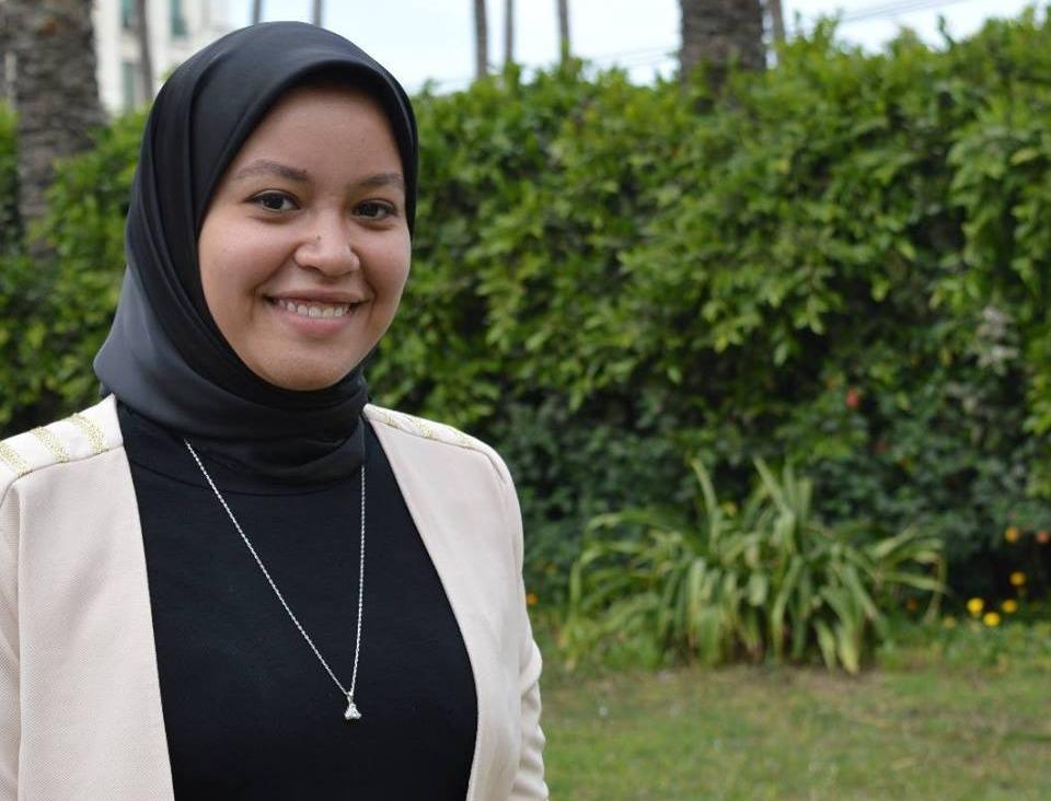 أميرة عز رئيسا لاتحاد طلاب كلية الطب جامعة الإسكندرية