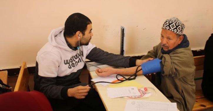 جامعة طنطا: الكشف على 1656 مواطن بقرية «صالحجر» في الغربية