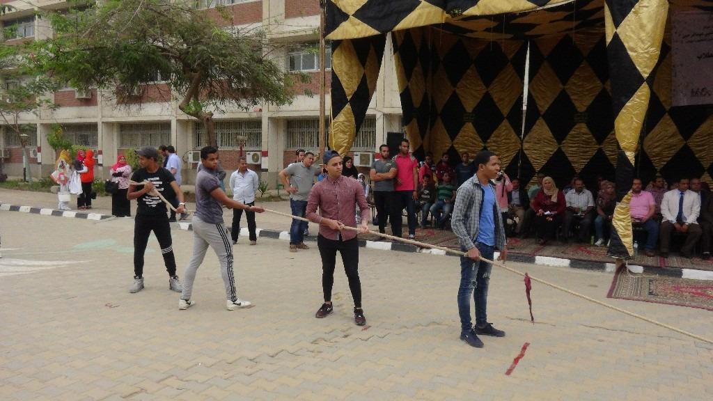 ألعاب ومسابقات.. جامعة المنيا تنظم يوما اجتماعيا للطلاب