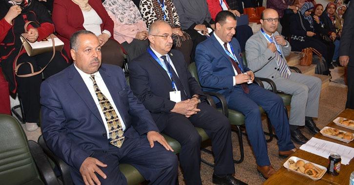 انطلاق فعاليات ملتقى الجمعية المصرية العلمية لطلاب التمريض بجامعة أسيوط