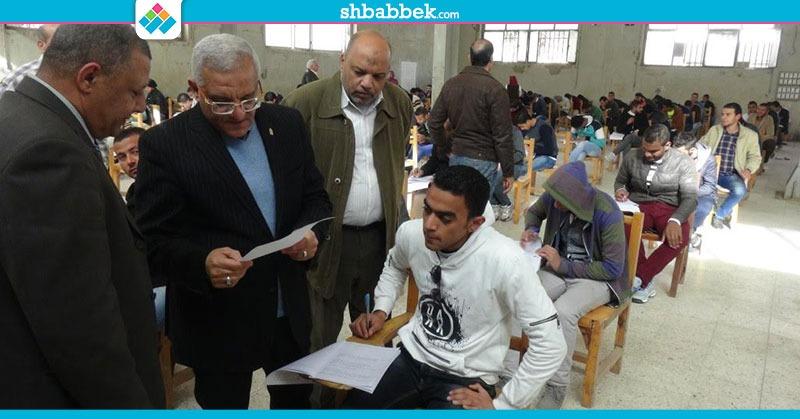 بسبب الغش.. إلغاء امتحان 10 طلاب بجامعة المنيا (صور)