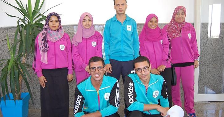 6 طلاب يمثلون جامعة سوهاج في مسابقة الشطرنج بأسبوع شباب المدن الجامعية