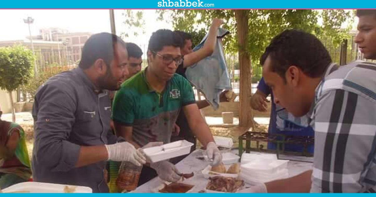 «ذاكر وفطارك علينا».. مبادرة لإفطار الطلاب المغتربين بجامعة أسيوط