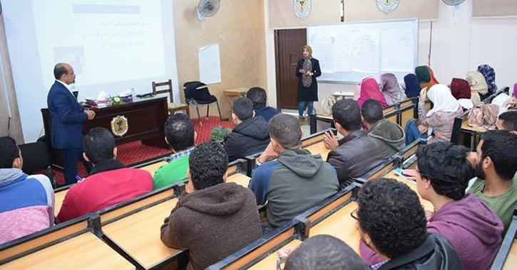 تدريب 600 طالب على ريادة الأعمال في جامعة سوهاج