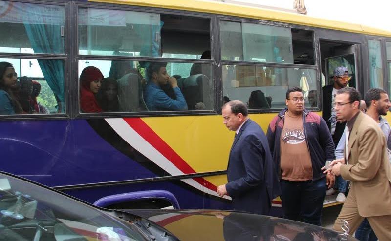 رئيس جامعة بنى سويف: أوتوبيسات وجولات في القرى لتشجيع المواطنين على الانتخاب
