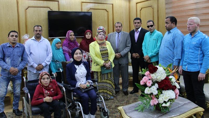 لإعفائهم من الجيش.. تشكيل لجان طبية في جامعة بني سويف للطلاب «ذوي الإعاقة»