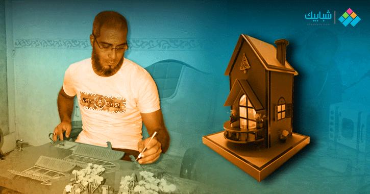 محمود نظير.. صانع «أنتيكات» بدرجة مهندس دون تعليم أو دراسة