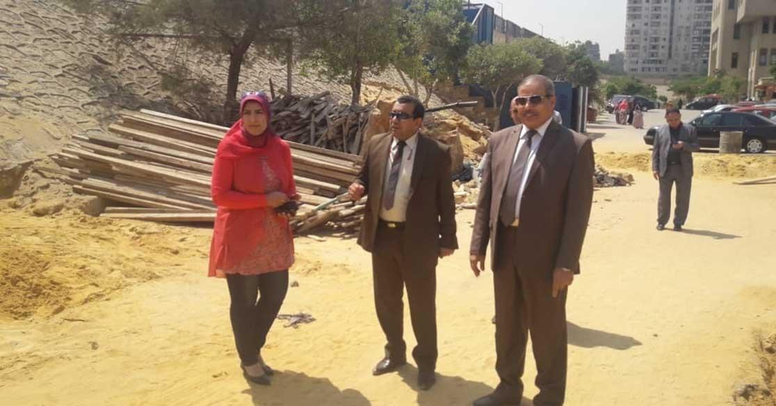 جامعة الأزهر تفتتح بوابة جديدة للطالبات (صور)